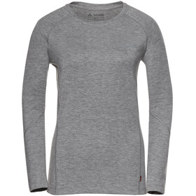 VAUDE Signpost II - T-shirt manches longues Femme - gris